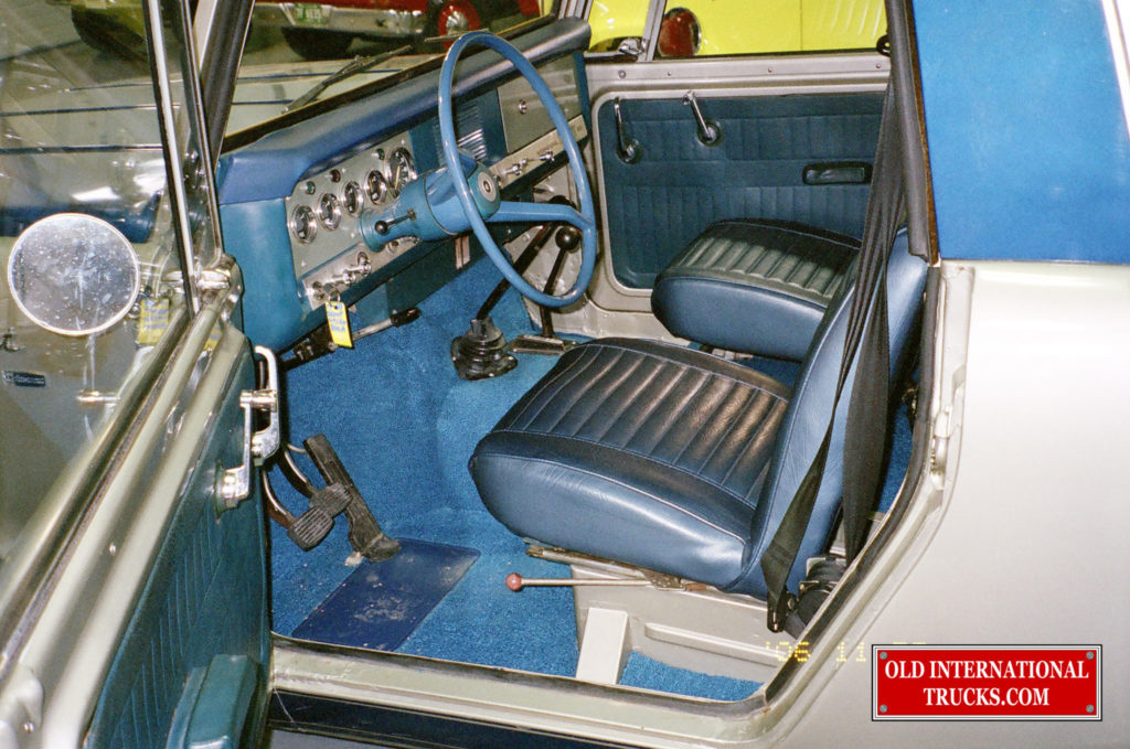 ALL BLUE INTERIOR
