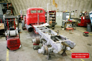 "DOING SOME SUSPENSION AND BRAKE WORK <div class=""download-image""><a href=""https://oldinternationaltrucks.com/wp-content/uploads/2017/09/01020009.jpg"" download><i class=""fa fa-download""></i> <span class=""full-size""></span></a></div>"