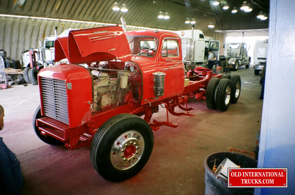 "FRAME PAINTED INTERNATIONAL RED AND NEW TIRES AND WHEELS INSTALLED <div class=""download-image""><a href=""https://oldinternationaltrucks.com/wp-content/uploads/2017/09/01280020.jpg"" download><i class=""fa fa-download""></i> <span class=""full-size""></span></a></div>"