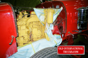 "CUMMINS NHB600 GETTING A PAINTED CUMMINS GOLD THE COLOR OF THE TIME <div class=""download-image""><a href=""https://oldinternationaltrucks.com/wp-content/uploads/2017/09/02060003.jpg"" download><i class=""fa fa-download""></i> <span class=""full-size""></span></a></div>"