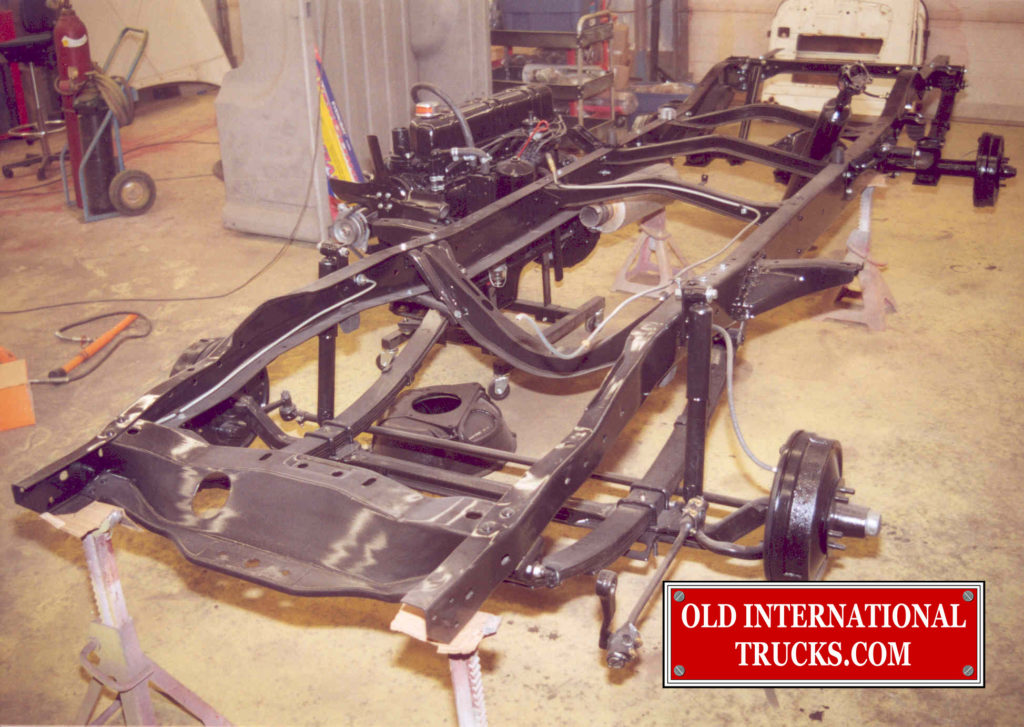 "AXLES AND BRAKE LINES INSTALLED <div class=""download-image""><a href=""https://oldinternationaltrucks.com/wp-content/uploads/2017/09/146.jpg"" download><i class=""fa fa-download""></i> <span class=""full-size""></span></a></div>"