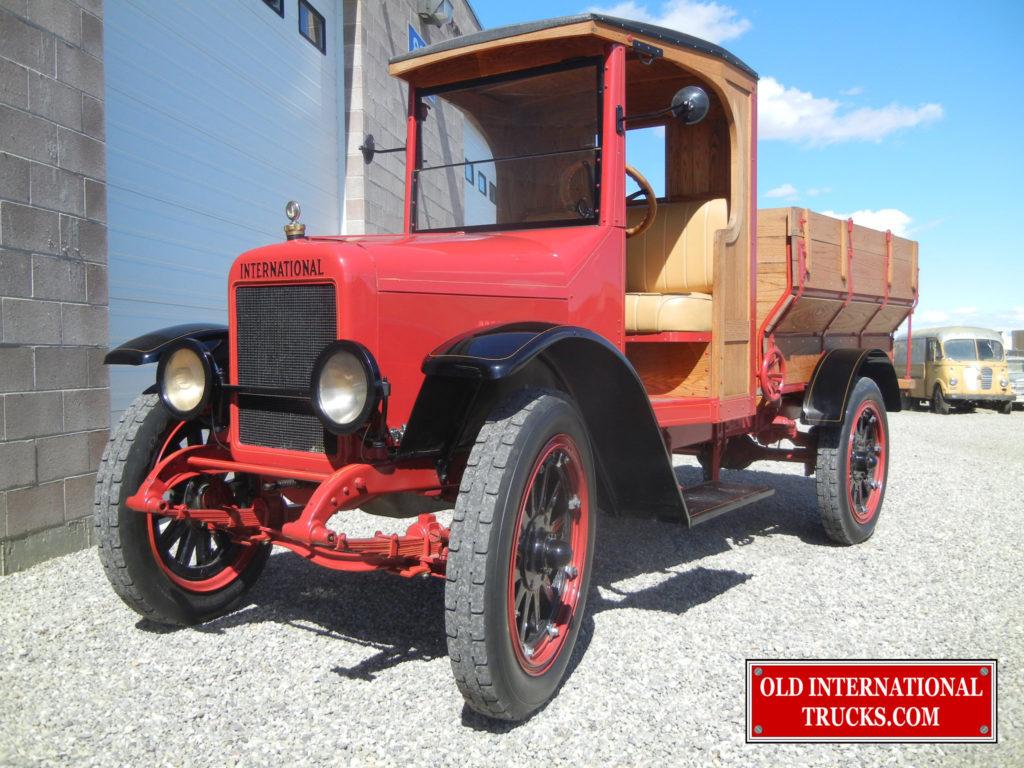 Used International Trucks >> 1923 Model S GRAIN BOX • Old International Truck Parts
