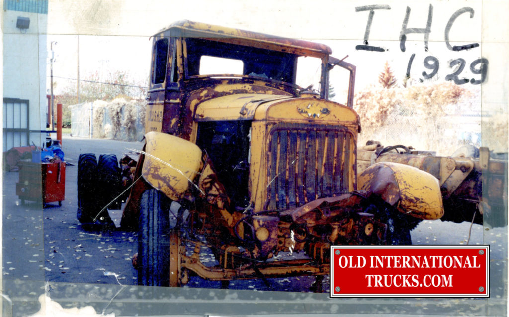 "There was very little straight metal left <div class=""download-image""><a href=""https://oldinternationaltrucks.com/wp-content/uploads/2017/09/1929-HS104C-442.jpg"" download><i class=""fa fa-download""></i> <span class=""full-size""></span></a></div>"