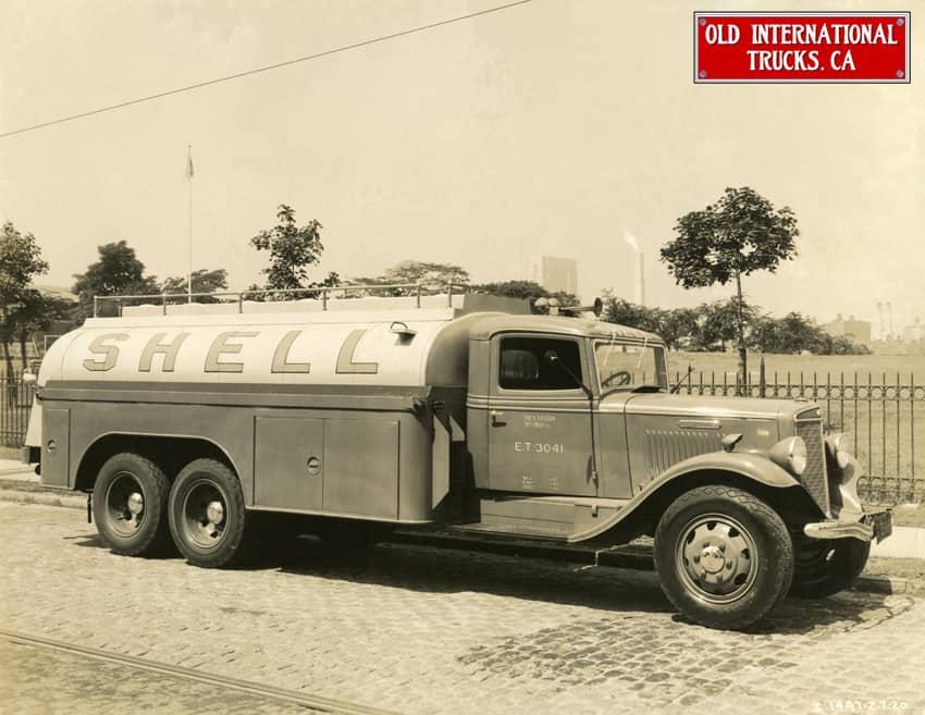 "1935 International Truck Model C-55-F full tandem gas tanker. <div class=""download-image""><a href=""https://oldinternationaltrucks.com/wp-content/uploads/2017/09/1935-International-Truck-Model-C-55-F-full-tandem-gas-tanker..jpeg"" download><i class=""fa fa-download""></i> <span class=""full-size""></span></a></div>"