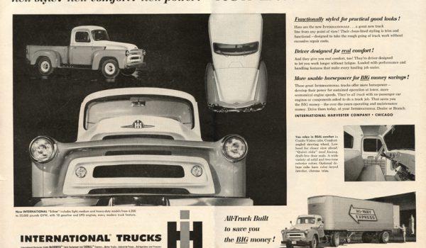 1956 International S Line Model 110