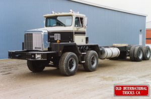 "1996 International PayStar Truck Model 5000 8x4 tandem steer axle at Chatham, Ont. plant. <div class=""download-image""><a href=""https://oldinternationaltrucks.com/wp-content/uploads/2017/09/1996-International-PayStar-Truck-Model-5000-8x4-tandem-steer-axle-at-Chatham-Ont.-plant..jpeg"" download><i class=""fa fa-download""></i> <span class=""full-size""></span></a></div>"