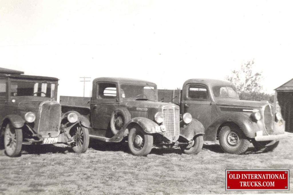 1935 C- 1 1/2 TON • Old International Truck Parts