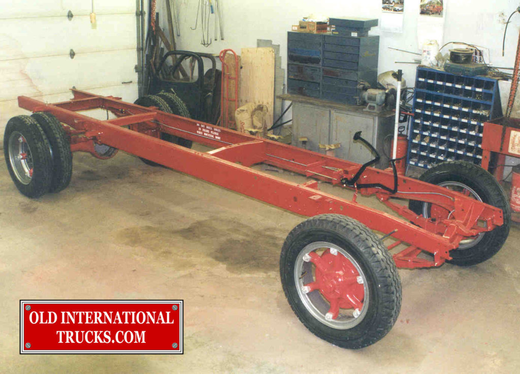 "Wheels and tires installed as well as fooot pedals. <div class=""download-image""><a href=""https://oldinternationaltrucks.com/wp-content/uploads/2017/09/23-1.jpg"" download><i class=""fa fa-download""></i> <span class=""full-size""></span></a></div>"