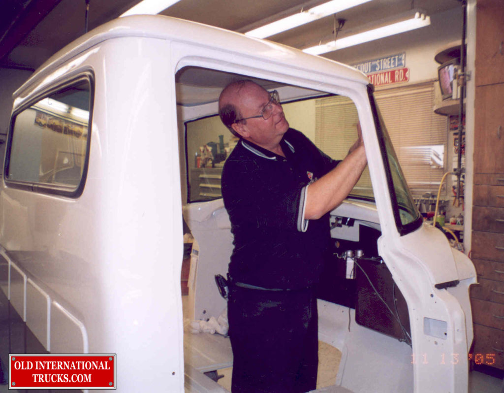 "GEORGE INSTALING THE WINDSHIELD <div class=""download-image""><a href=""https://oldinternationaltrucks.com/wp-content/uploads/2017/09/258.jpg"" download><i class=""fa fa-download""></i> <span class=""full-size""></span></a></div>"
