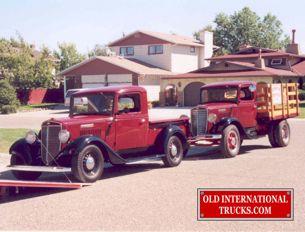 """1935 C-1 with our 1935 C-30 <div class=""""download-image""""><a href=""""https://oldinternationaltrucks.com/wp-content/uploads/2017/09/41.jpg"""" download><i class=""""fa fa-download""""></i> <span class=""""full-size""""></span></a></div>"""
