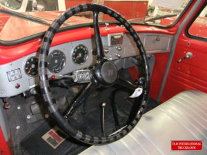 WE WERE ABLE TO FIND A NEW OLD STOCK STEERING WHEEL