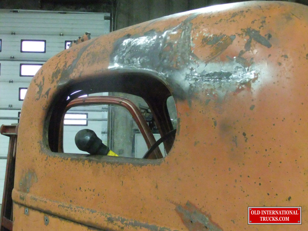 """Cab roof roughed out <div class=""""download-image""""><a href=""""https://oldinternationaltrucks.com/wp-content/uploads/2017/09/DSCF9732.jpg"""" download><i class=""""fa fa-download""""></i> <span class=""""full-size""""></span></a></div>"""