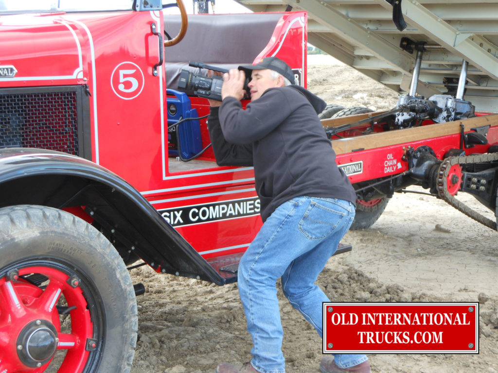 "Being filmed by Craig Swanson for the Boulder Dam movie and story. <div class=""download-image""><a href=""https://oldinternationaltrucks.com/wp-content/uploads/2017/09/DSCN0920.jpg"" download><i class=""fa fa-download""></i> <span class=""full-size""></span></a></div>"