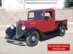"1935 C-1 half ton short wheel base <div class=""download-image""><a href=""https://oldinternationaltrucks.com/wp-content/uploads/2017/09/DSCN1050.jpg"" download><i class=""fa fa-download""></i> <span class=""full-size""></span></a></div>"