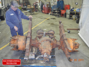 "The KR stand for double reduction rear axle, which had been changed out at some time, we got one from Quebec <div class=""download-image""><a href=""https://oldinternationaltrucks.com/wp-content/uploads/2017/09/DSCN1069.jpg"" download><i class=""fa fa-download""></i> <span class=""full-size""></span></a></div>"