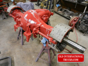"Rear differential rebuilt and painted <div class=""download-image""><a href=""https://oldinternationaltrucks.com/wp-content/uploads/2017/09/DSCN7411.jpg"" download><i class=""fa fa-download""></i> <span class=""full-size""></span></a></div>"