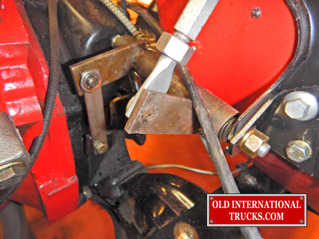 "Clutch linkage installed <div class=""download-image""><a href=""https://oldinternationaltrucks.com/wp-content/uploads/2017/09/FSCN8351-1.jpg"" download><i class=""fa fa-download""></i> <span class=""full-size""></span></a></div>"