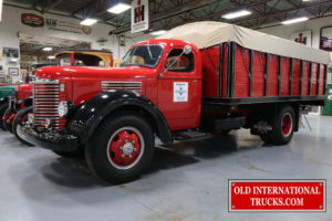 "1949 KBS-7, 269 blue diamond 6 cylinder, 5 speed trans, 2 speed rear axle  <div class=""download-image""><a href=""https://oldinternationaltrucks.com/wp-content/uploads/2017/09/IMG_0072-1.jpg"" download><i class=""fa fa-download""></i> <span class=""full-size""></span></a></div>"