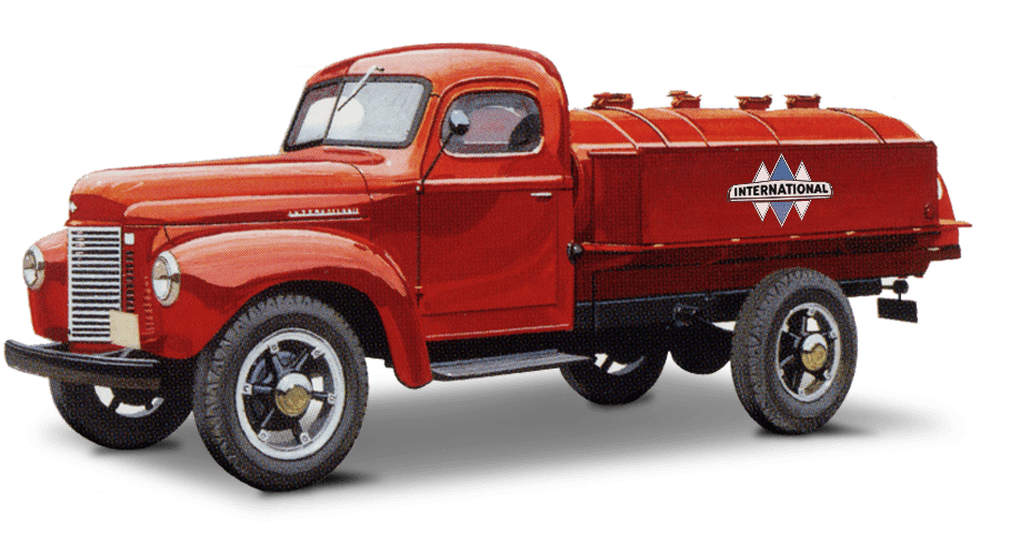 Old International Truck Illustration