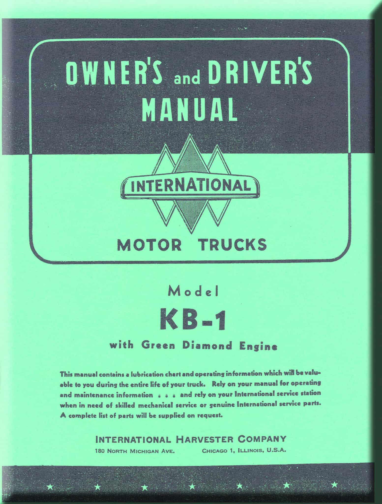 Operator's Manual K1 And KB1