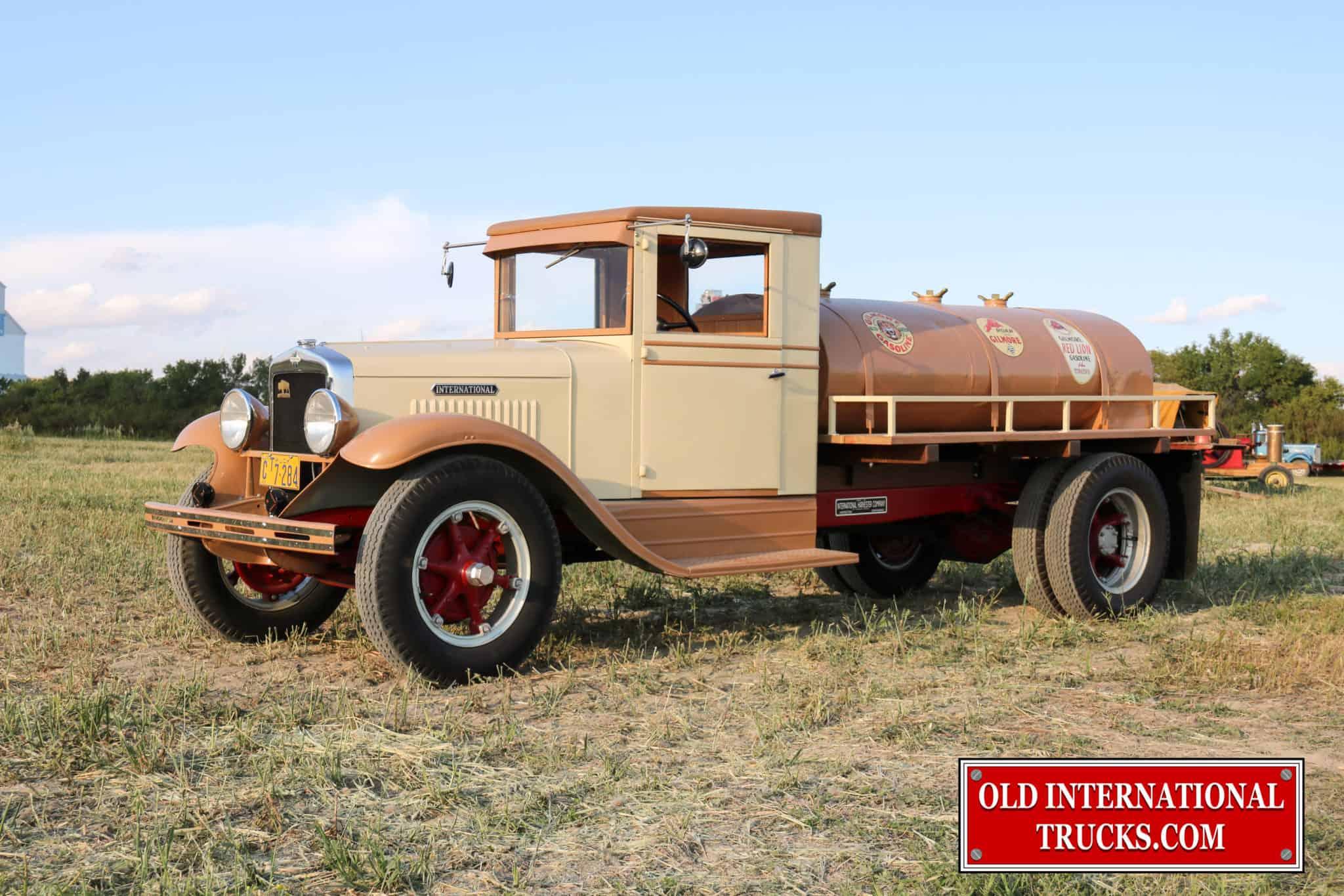 1933 B-3 Fuel Tanker • Old International Truck Parts