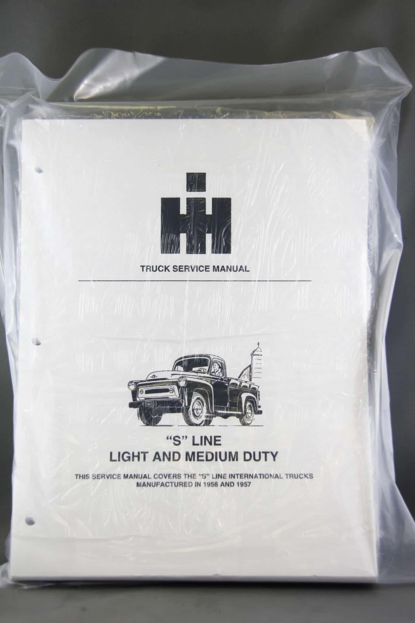 Service Manual S Series 1956-1957