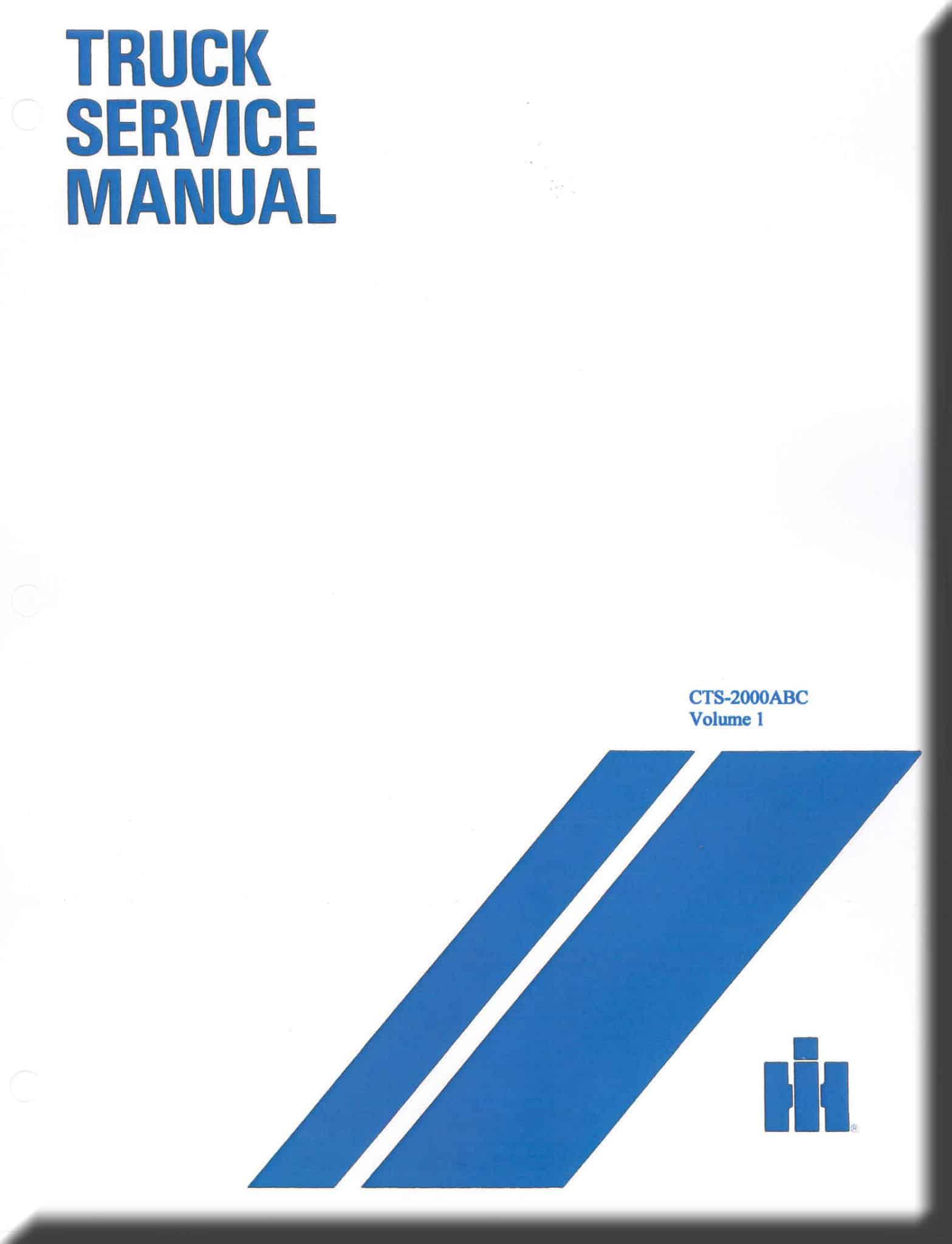 Old International Truck Service Manuals Parts 1954 Trucks Wiring Diagram Manual Abc 1958 1964