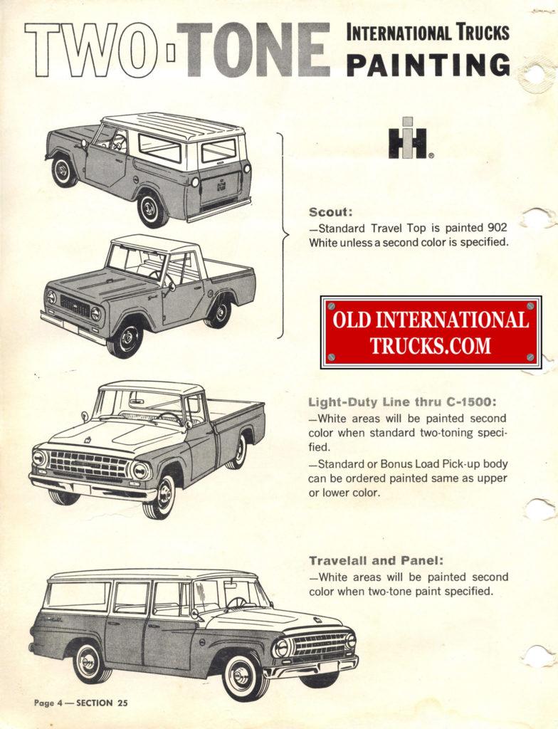1963 1964 Standard Colors B