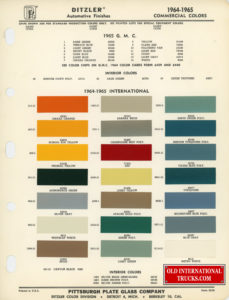 "1964-1965 Commercial Colors <div class=""download-image""><a href=""https://oldinternationaltrucks.com/wp-content/uploads/2017/11/1964-1965-.jpg"" download><i class=""fa fa-download""></i> <span class=""full-size""></span></a></div>"