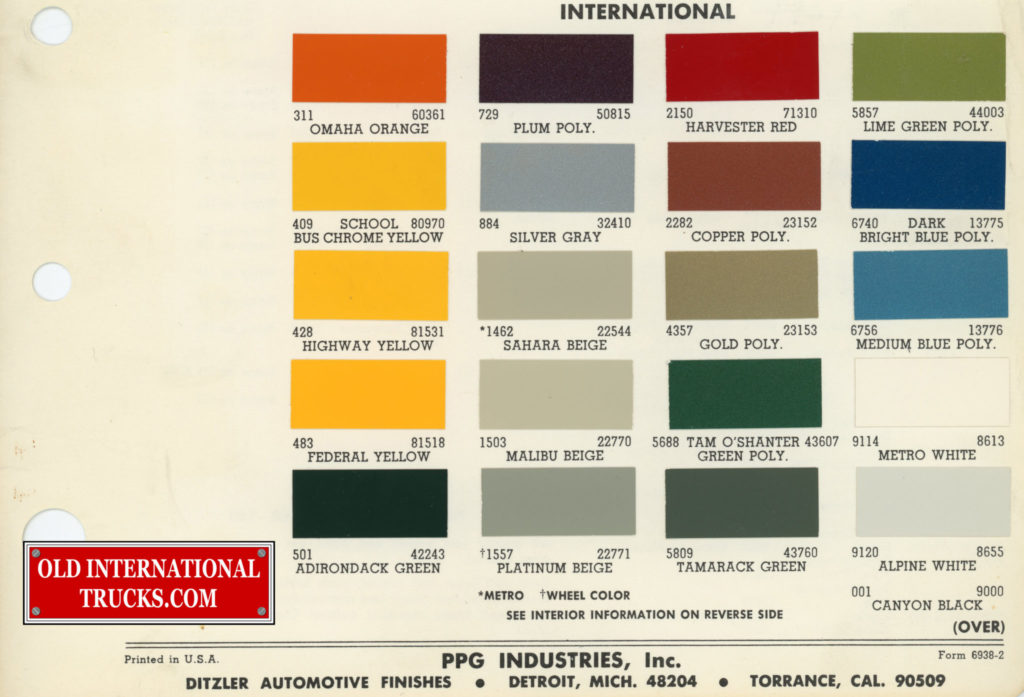 "1969-PPG International colors <div class=""download-image""><a href=""https://oldinternationaltrucks.com/wp-content/uploads/2017/11/1969-PPG-.jpg"" download><i class=""fa fa-download""></i> <span class=""full-size""></span></a></div>"