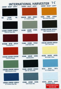"1976 color chart <div class=""download-image""><a href=""https://oldinternationaltrucks.com/wp-content/uploads/2017/11/1976-color-chart386.jpg"" download><i class=""fa fa-download""></i> <span class=""full-size""></span></a></div>"