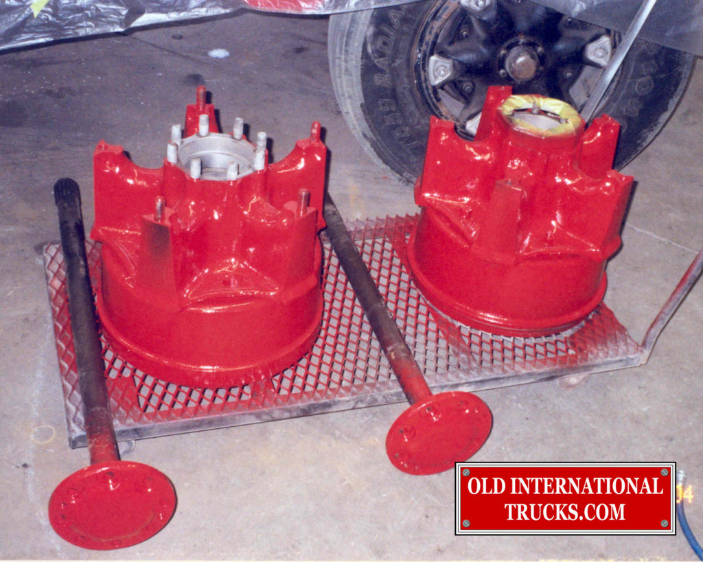 """HUBS AND DRUMS PAINTED RED <div class=""""download-image""""><a href=""""https://oldinternationaltrucks.com/wp-content/uploads/2017/11/34.jpg"""" download><i class=""""fa fa-download""""></i> <span class=""""full-size""""></span></a></div>"""