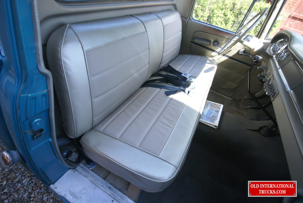 "SEAT REDONE WITH ORIGINAL COVERINGS. <div class=""download-image""><a href=""https://oldinternationaltrucks.com/wp-content/uploads/2017/11/DSC03372.jpg"" download><i class=""fa fa-download""></i> <span class=""full-size""></span></a></div>"
