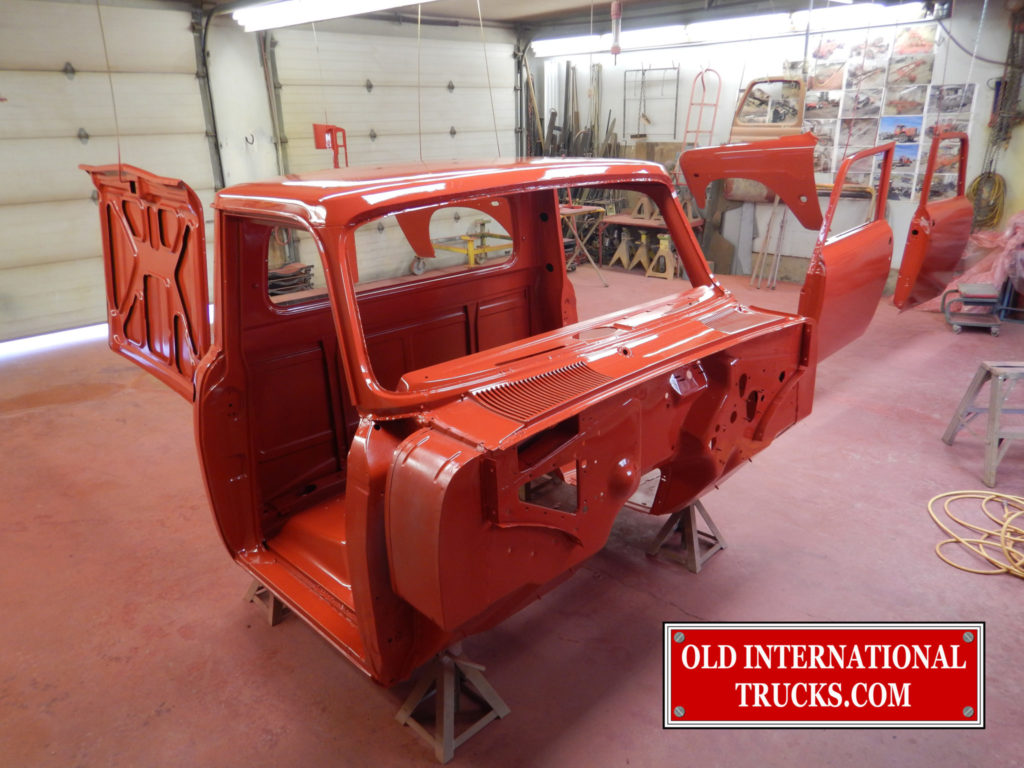 "CAB PAINTED 2150 IH RED <div class=""download-image""><a href=""https://oldinternationaltrucks.com/wp-content/uploads/2017/11/DSCN5714.jpg"" download><i class=""fa fa-download""></i> <span class=""full-size""></span></a></div>"