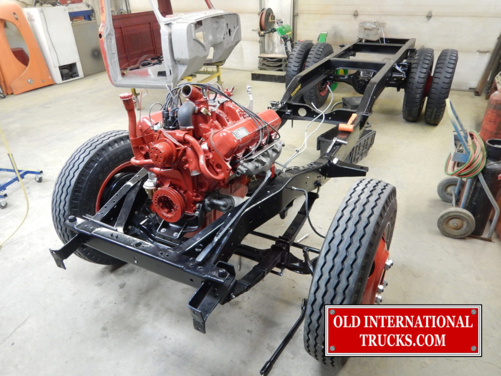 "ENGINE MOUNTED IN CHASSIS <div class=""download-image""><a href=""https://oldinternationaltrucks.com/wp-content/uploads/2017/11/DSCN9800-1.jpg"" download><i class=""fa fa-download""></i> <span class=""full-size""></span></a></div>"