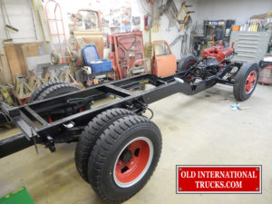 """Chassis done <div class=""""download-image""""><a href=""""https://oldinternationaltrucks.com/wp-content/uploads/2017/11/DSCN9977.jpg"""" download><i class=""""fa fa-download""""></i> <span class=""""full-size""""></span></a></div>"""