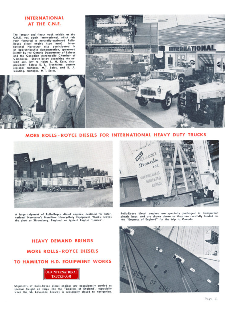"""ROLLS ROYCE AD SHOWING ENGINES LEAVING THE FACTORY FOR CANADA <div class=""""download-image""""><a href=""""https://oldinternationaltrucks.com/wp-content/uploads/2017/11/rolls-royce-diesel-engines491.jpg"""" download><i class=""""fa fa-download""""></i> <span class=""""full-size""""></span></a></div>"""