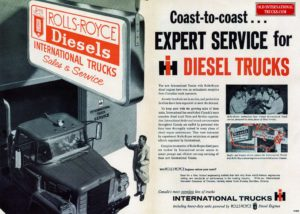 INTERNATIONAL ROLLS ROYCE AD