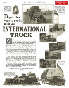 "1927 begin this year to profit with an international truck <div class=""download-image""><a href=""https://oldinternationaltrucks.com/wp-content/uploads/2017/12/1927.jpg"" download><i class=""fa fa-download""></i> <span class=""full-size""></span></a></div>"