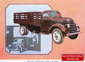 "1937-1940 Model D-30 Series <div class=""download-image""><a href=""https://oldinternationaltrucks.com/wp-content/uploads/2017/12/1937-1940-Model-D-30-Series.jpg"" download><i class=""fa fa-download""></i> <span class=""full-size""></span></a></div>"