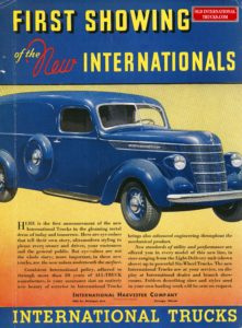 "advertisment for international, featuring a blue truck, <div class=""download-image""><a href=""https://oldinternationaltrucks.com/wp-content/uploads/2017/12/1937-D-LINNE.jpg"" download><i class=""fa fa-download""></i> <span class=""full-size""></span></a></div>"