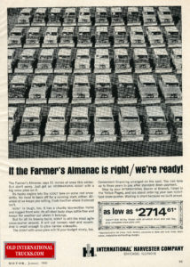 1966 SCOUTS WITH SNOW PLOWS