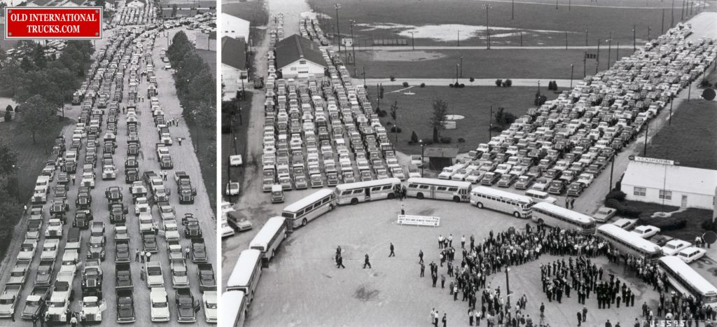 """1968 worlds largest drive away Springfield Ohio. <div class=""""download-image""""><a href=""""https://oldinternationaltrucks.com/wp-content/uploads/2017/12/1968-worlds-largest-driveaway-2-3.jpg"""" download><i class=""""fa fa-download""""></i> <span class=""""full-size""""></span></a></div>"""