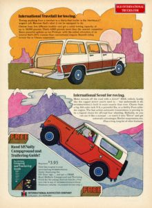 "1970 SCOUT AND TRAVELALL <div class=""download-image""><a href=""https://oldinternationaltrucks.com/wp-content/uploads/2017/12/1970-International-travelall-for-towing.jpg"" download><i class=""fa fa-download""></i> <span class=""full-size""></span></a></div>"