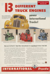 "13 different truck engines power international trucks <div class=""download-image""><a href=""https://oldinternationaltrucks.com/wp-content/uploads/2017/12/6-23-2014-5-1.jpg"" download><i class=""fa fa-download""></i> <span class=""full-size""></span></a></div>"