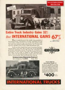 "1935 INTERNATIONAL TRUCK SALE WERE UP 67 %  <div class=""download-image""><a href=""https://oldinternationaltrucks.com/wp-content/uploads/2017/12/entire-truck-industy-gains-32-but-international-gains-67.jpg"" download><i class=""fa fa-download""></i> <span class=""full-size""></span></a></div>"