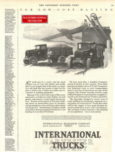 "1925 INTERNATIONAL  AD <div class=""download-image""><a href=""https://oldinternationaltrucks.com/wp-content/uploads/2017/12/for-low-cost-hauling.jpg"" download><i class=""fa fa-download""></i> <span class=""full-size""></span></a></div>"