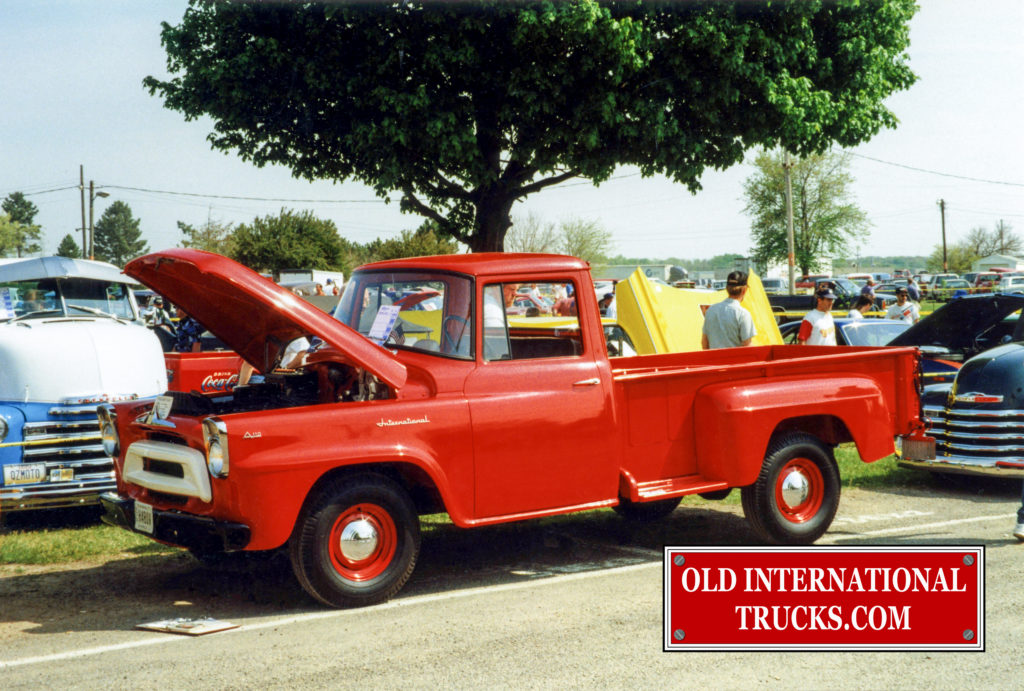 1957 International A 110 half ton