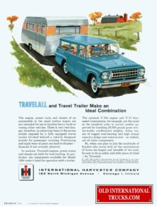 travelall and travel trailer make an ideal combination 1963