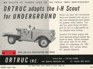 "Scout 80 for mine work. <div class=""download-image""><a href=""https://oldinternationaltrucks.com/wp-content/uploads/2017/12/img037.jpg"" download><i class=""fa fa-download""></i> <span class=""full-size""></span></a></div>"